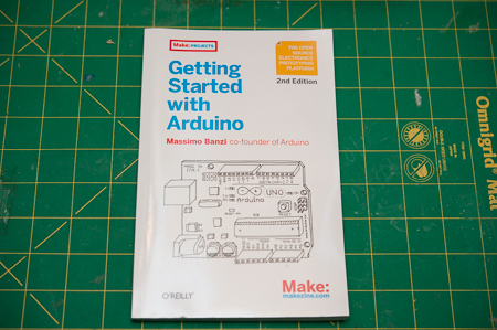 Getting started with Arduino book, always good to have or share with friends.